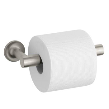 Kohler K-14377-BN Purist Toilet Paper Holder - Brushed Nickel