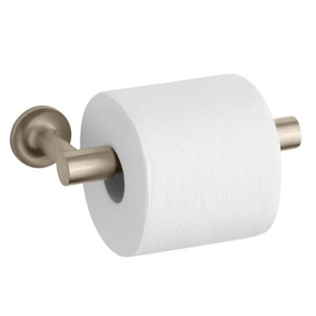 Kohler K-14377-BV Purist Toilet Paper Holder - Brushed Bronze