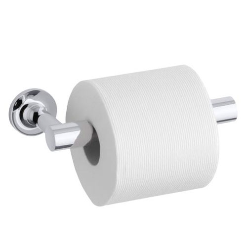 Kohler KCP Purist Toilet Paper Holder Chrome FaucetDepotcom - Kohler bathroom accessories chrome