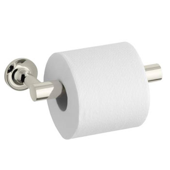 Kohler K-14377-SN Purist Toilet Paper Holder - Polished Nickel