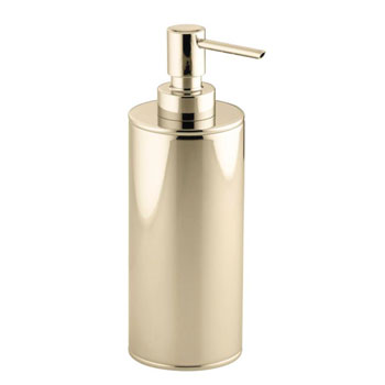Kohler K-14379-AF Purist Countertop Soap Dispenser - French Gold