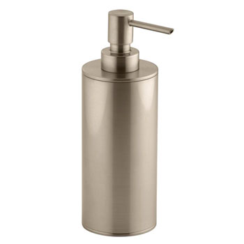 Kohler K-14379-BV Purist Countertop Soap Dispenser - Brushed Bronze