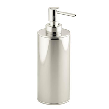 Kohler K-14379-SN Purist Countertop Soap Dispenser - Polished Nickel