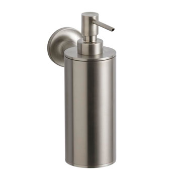 Kohler K-14380-BN Purist Wall-Mounted Soap Dispenser - Brushed Nickel