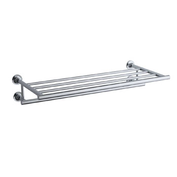 Kohler K-14381-CP Purist Towel Shelf - Chrome