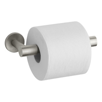 Kohler K-14393-BN Stillness Toilet Tissue Holder - Brushed Nickel