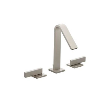 Kohler K-14661-4-BN Loure Two Handle Widespread Lavatory Faucet - Brushed Nickel