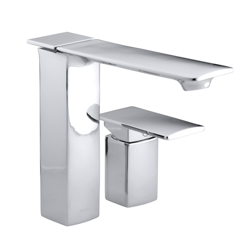 Kohler K-14774-4-CP Stance Single-Control Bath or Deck-Mount Faucet - Polished Chrome