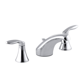 Kohler K-15261-4-CP Two Handle Widespread Bathroom Faucet - Polished Chrome