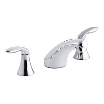 Kohler K-15265-4-CP Coralais Two-Handle Widespread Lavatory Faucet - Polished Chrome