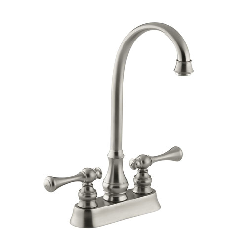 Kohler K 16112 4a Bn Revival Entertainmentbar Sink Faucet With