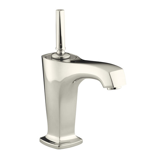 Kohler K 16230 4 Sn One Handle Single Control Lavatory Faucet