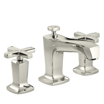 Kohler K-16232-3-SN Margaux Two Handle Widespread Lavatory Faucet - Polished Nickel