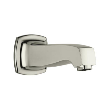 Kohler K-16246-SN Margaux Wall Mount Non-Diverter Bath Spout - Polished Nickel