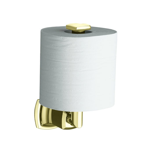 Kohler K-16255-AF Margaux Vertical Toilet Tissue Holder - French Gold