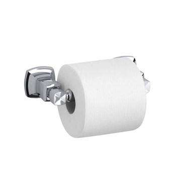 Kohler K-16265-CP Margaux Horizontal Toilet Tissue Holder - Chrome