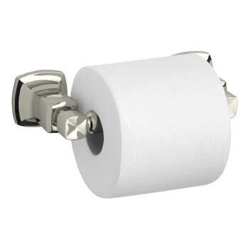 Kohler K-16265-SN Margaux Horizontal Toilet Tissue Holder - Polished Nickel