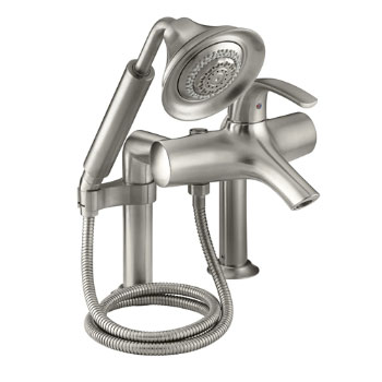 Kohler K-18486-4-BN Symbol Roman Tub Faucet With Handshower - Brushed Nickel