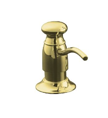 Kohler K-1894-C-PB Traditional Soap/Lotion Dispenser - Polished Brass