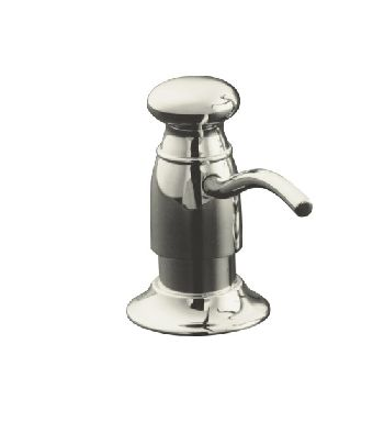 Kohler K-1894-C-SN Traditional Soap/Lotion Dispenser - Polished Nickel