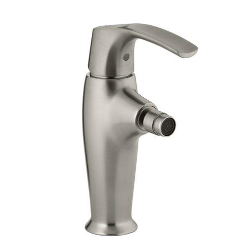 Kohler K 19481 4 Bn Symbol Single Control Bidet Faucet Brushed