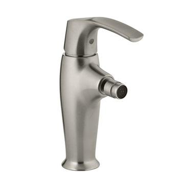 Kohler K-19481-4-BN Symbol Single Control Bidet Faucet - Brushed Nickel