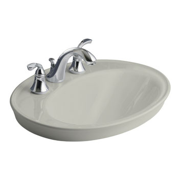 Kohler K 2075 8 95 Serif Drop In Lavatory Sink With 8
