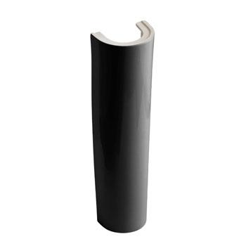 Kohler K-2177-7 Parigi Lavatory Pedestal Only - Black