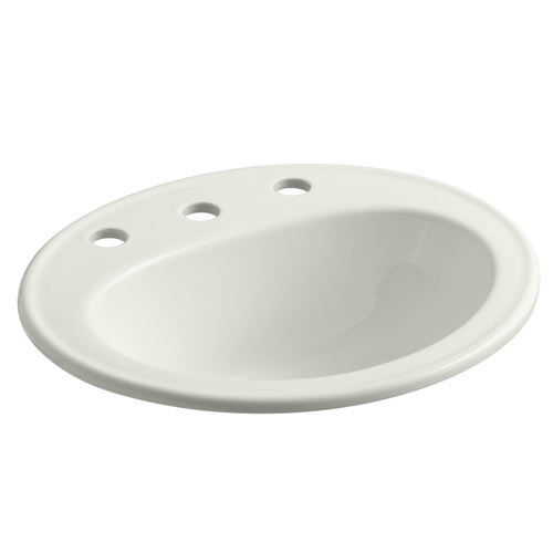 Kohler K-2196-8-NY Pennington Self-Rimming Lavatory Sink with 8