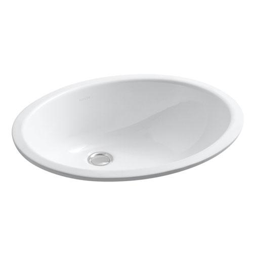 Kohler K 2210 0 Undercounter Lavatory Sink White