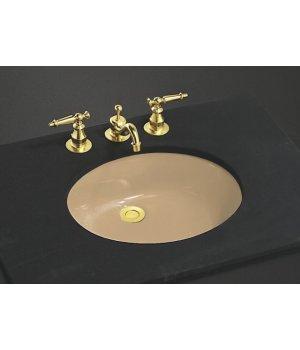kohler k221033 caxton lavatory sink mexican sand