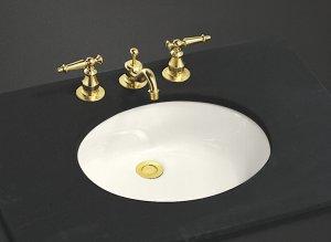 Kohler K-2210-96 Caxton Undercounter Lavatory Sink - Biscuit