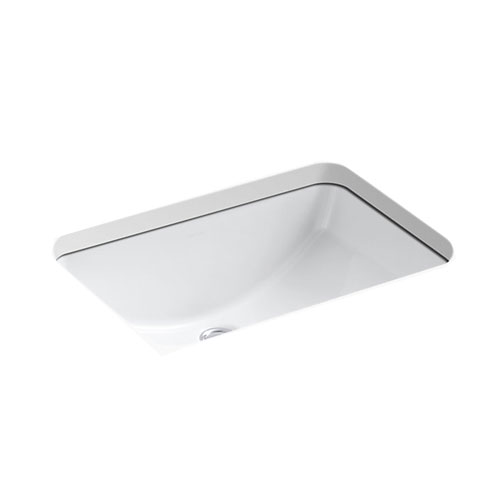 Kohler K-2214-0 Ladena Undermount Lavatory Sink - White