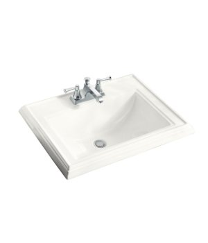 Kohler K-2241-4-0 Memoirs Self Rimming Lavatory Sink with 4