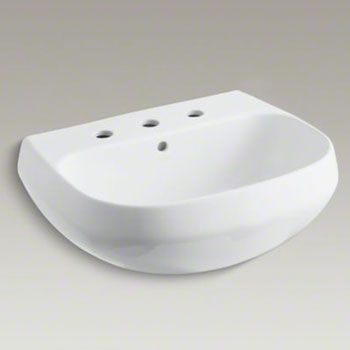 Kohler K-2296-8-0 Wellworth Lavatory Sink Basin with 8