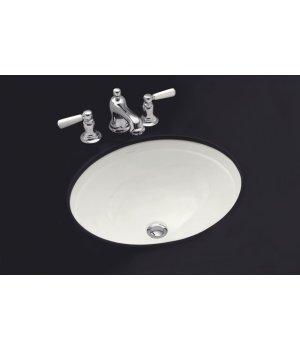 Kohler K-2319-0 Bancroft Undercounter Lavatory Sink - White