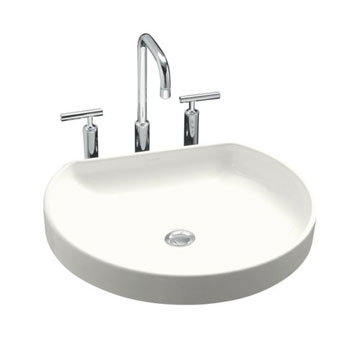 Kohler K-2332-0 Watercove Wading Pool Lavatory - White