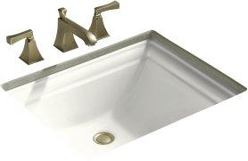 Kohler K-2339-0 Memoirs Undercounter Lavatory Sink - White