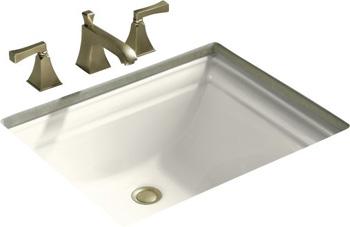 Kohler K-2339-96 Memoirs Undercounter Lavatory Sink - Biscuit