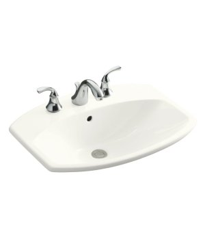 Kohler K-2351-8-0 Cimarron Self Rimming Lavatory with 8