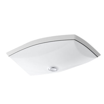 Kohler K-2382-0 Kelston Undercounter Lavatory Sink - White