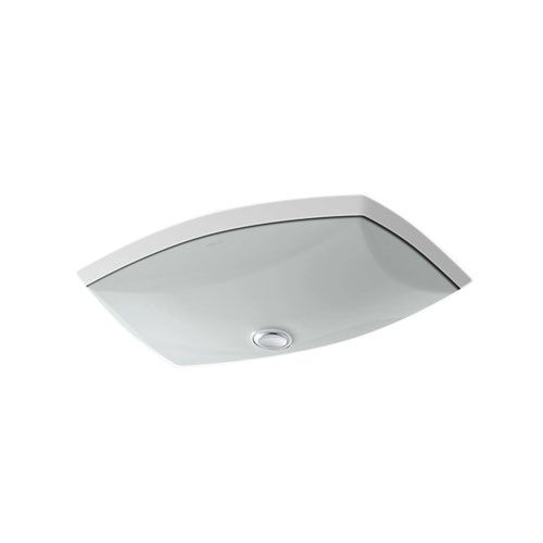 Kohler K-2382-95 Kelston Under-mount Lavatory Sink - Ice Grey