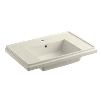 Tresham Pedestal Sink : Kohler K-2758-1-47 Tresham 30