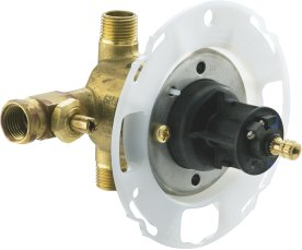Kohler K-304-KP Rite Temp Pressure Balancing Valve with CPVC Connections and Screwdriver Stops