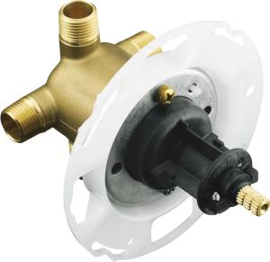 Kohler K-304-KS-NA Rite Temp Pressure Balancing Shower Valve with Screwdriver Stops