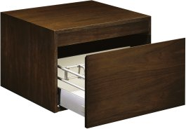 Kohler K-3080-F4 Purist Wall Mount Cabinet - Black Walnut