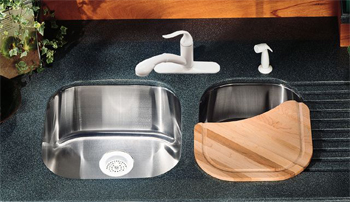 K-3335 Kohler Undertone+ Extra Large Deep Undercounter Kitchen Sink, 17 7/8
