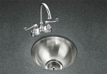 K-3339 Kohler Undertone Undercounter Circular Kitchen Sink - Stainless Steel