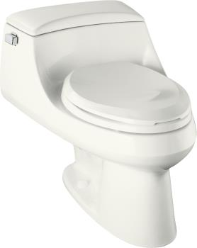 Kohler K-3466-96 San Raphael One-Piece Elongated Toilet - Biscuit