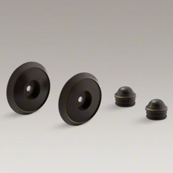 Kohler K-349-2BZ Slide Bar Trim Kit - Oil Rubbed Bronze